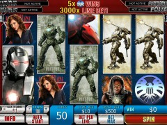 Iron Man 2 freeslots-77.com Playtech 1/5
