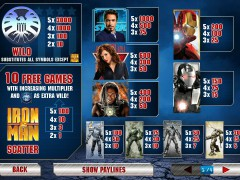 Iron Man 2 freeslots-77.com Playtech 2/5