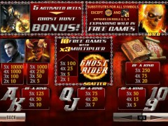 Ghost Rider freeslots-77.com Playtech 2/5
