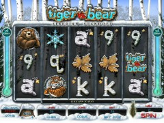 Tiger Vs Bear Siberian Standoff freeslots-77.com Genesis Gaming 1/5