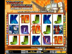 Transformers freeslots-77.com IGT Interactive 3/5