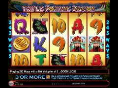 Triple Fortune Dragon freeslots-77.com IGT Interactive 3/5