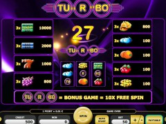 Turbo 27 freeslots-77.com Kajot Casino 2/5
