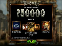 The True Sheriff freeslots-77.com Betsoft 1/5