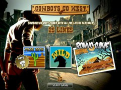 Cowboys Go West - World Match