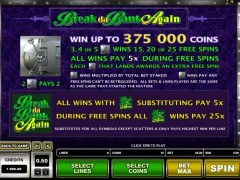 Break da Bank Again freeslots-77.com Microgaming 2/5