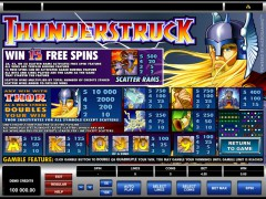 Thunderstruck freeslots-77.com Microgaming 3/5