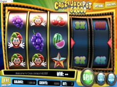 Crazy Jackpot 60000 - Betsoft