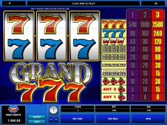 Grand 777 freeslots-77.com Microgaming 1/5