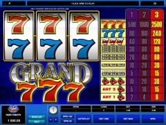 Grand 777 freeslots-77.com Microgaming 2/5