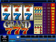 Grand 777 freeslots-77.com Microgaming 4/5