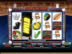 Andre the Giant - Microgaming