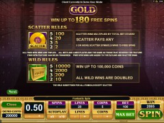 Gold freeslots-77.com Microgaming 3/5