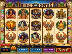 Throne Of Egypt freeslots-77.com Microgaming 1/5