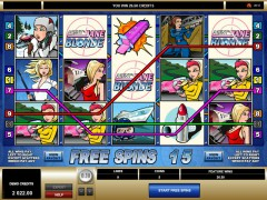 Agent Jane Blonde freeslots-77.com Microgaming 3/5