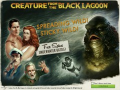 Creature from the Black Lagoon freeslots-77.com NetEnt 1/5
