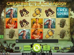 Creature from the Black Lagoon freeslots-77.com NetEnt 2/5