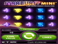 Starburst Mini freeslots-77.com NetEnt 1/5