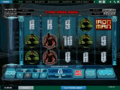 Iron Man 3 - Playtech