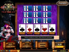 Pirate Of Face The Ace 10 Lines freeslots-77.com Spadegaming 3/5
