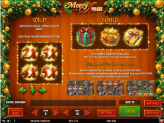 Merry Xmas freeslots-77.com Play'nGo 3/5