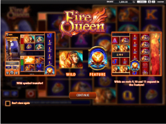 Fire Queen freeslots-77.com William Hill Interactive 1/5
