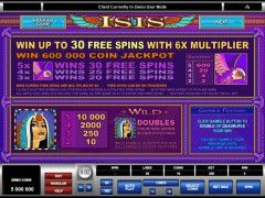 Isis freeslots-77.com Microgaming 3/5
