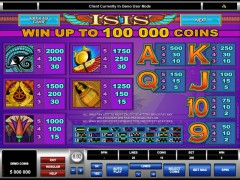 Isis freeslots-77.com Microgaming 4/5