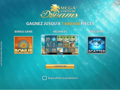 Mega Fortune Dreams freeslots-77.com NetEnt 1/5