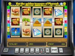 Golden Treasure of Pharaoh - Novomatic