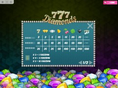 777 Diamonds freeslots-77.com MrSlotty 5/5