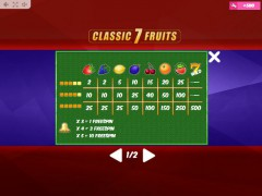 Classic7Fruits freeslots-77.com MrSlotty 5/5