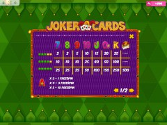 Joker Cards freeslots-77.com MrSlotty 5/5