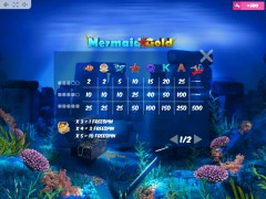 Mermaid Gold freeslots-77.com MrSlotty 5/5