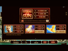 Titans of the Sun Hyperion freeslots-77.com Microgaming 4/5